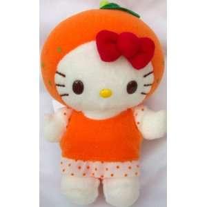 Hello Kitty 5 Plush Orange Kitty Plush Doll Toy Toys