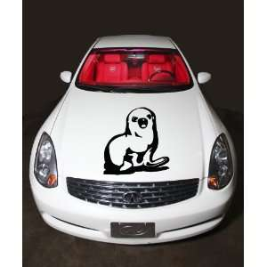 Car Hood Vinyl Sticker Funny Seal Animal A382 Home