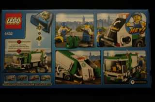 Lego #4432 City Garbage Truck * New * Factory Sealed * Town *