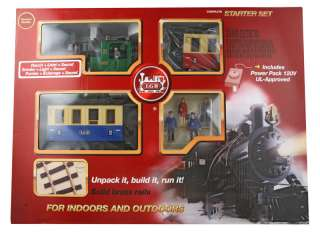 LGB G Scale Train Car 72302 Passenger Starter Set NIB
