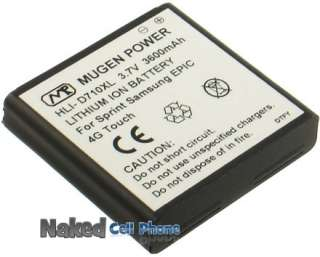 MUGEN 3600mAh EXTENDED BATTERY FOR SPRINT SAMSUNG GALAXY S II EPIC 4G