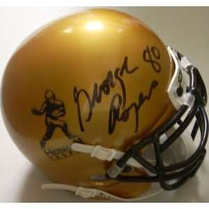 George Rogers Signed Heisman Trophy Authentic Mini Helmet