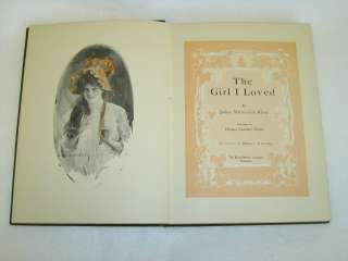 James Whitcomb Riley THE GIRL I LOVED Illus by Howard Chandler Christy