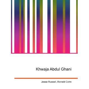 Khwaja Abdul Ghani: Ronald Cohn Jesse Russell: Books