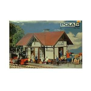 MICHELBACH STATION   POLA G SCALE MODEL TRAIN BUILDING KIT