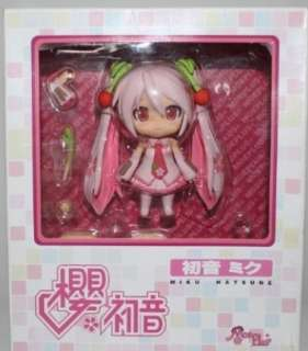 Japan Anime Sakura Miku Hatsune Vocaloid action Cute Figure Mini