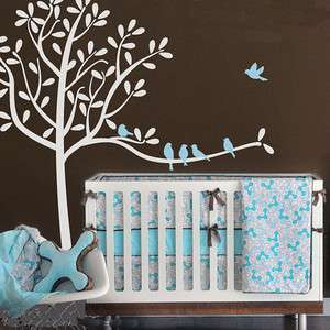 Tree Fit Children Room Nature Vinyl Wall Paper Decal Art Sticker Q217