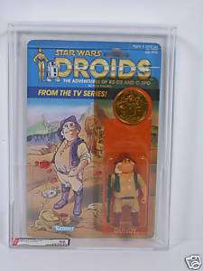 Star Wars Kenner DROIDS Uncle Gundy AFA 85 MOC