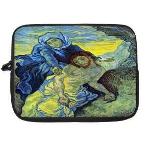 Van Gogh Art Paintbrushes Laptop Sleeve   Note Book sleeve