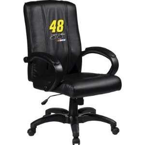 Chair with NASCAR Logo Panel Team Jimmie Johnson 48