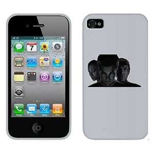 Star Trek Kirk Spock & Uhura on Verizon iPhone 4 Case by