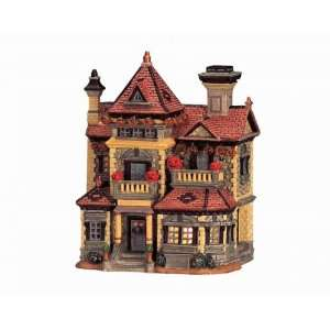 Lemax Spooky Town Village Collection Harper House Lighted