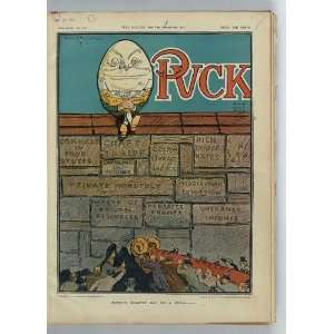 wall,Frank A. Nankivell 1910,Puck,Cost Of Living,Ram: Home & Kitchen