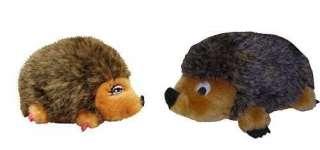 Jr. Hedgehog Plush Dog/Cat Toy, with Squeak Sound
