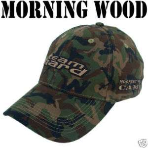 Army Green Morning Wood Camo FlexFit Golf Cap Hat L/XL