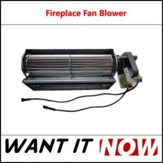 Blower Fan Fireplace Gas Wood Coal Stove for Heat Surge and Real Flame