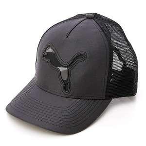 Brand New PUMA Mason Mesh Trucker Cap / Hat (84291901) Black in Asian
