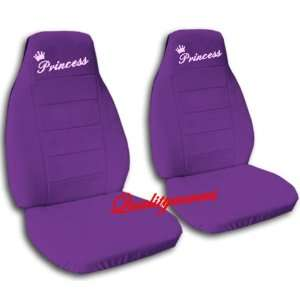 2 Purple Princess car seat covers, for a 2004 Toyota
