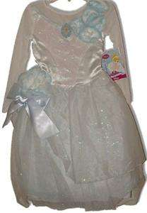 NWT Disney Princess CINDERELLA Costume Wedding DRESS