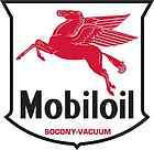 MOBIL OIL vinyl cut sticker decal 14 (full