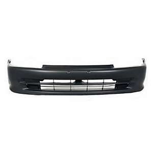 TKY HD04039BBZ MT5 Honda Civic Primed Black Replacement Front Bumper