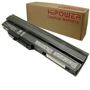 Hipower 6 Cell Laptop Battery For MSI Wind U100 016US, U100 030US