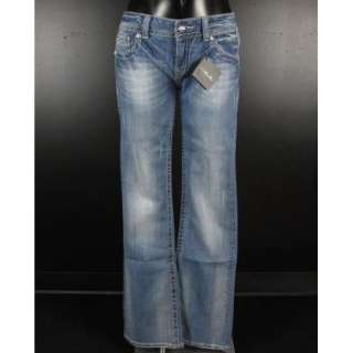 NWT MISS ME JEANS BOOT Cut CUT OUT FLAP SHABBY STITCHED & CRYSTALS