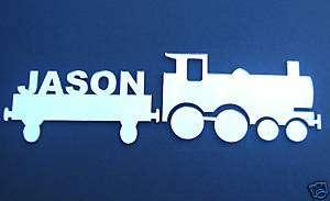 Train+Car Mirror/ Laser Cut Boy/Girl Bedroom Wall Decor