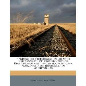 (German Edition) (9781175161697) Georg Benedikt Winer Books