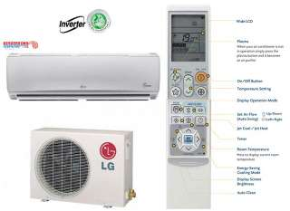24000 BTU LG Ductless Mini Split Air Conditioner SEER 19 COOL/HEAT