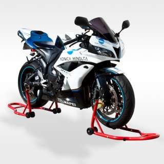 Front & Rear Wheel Lift Motorcycle Stands Swingarm Honda Suzuki Yamaha