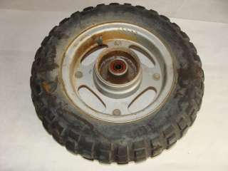 1984 Honda Z50 Front Wheel Tire Rim   Image 03
