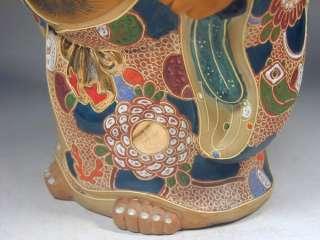 Figure #8 Vtg Porcelain Happy Lucky Buddha Hotei Statue Figurine