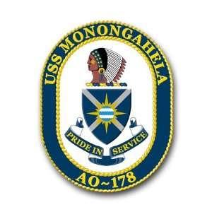 US Navy Ship USS Monongahela AO 178 Decal Sticker 3.8 6