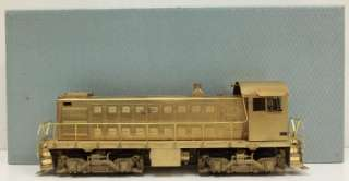 Brass DE 121 0 600 HP. O Scale 2 Rail Diesel Switcher S 1/Box