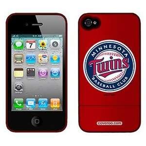 Minnesota Twins Baseball Club on Verizon iPhone 4 Case by