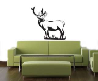 HUNTING DOG DEER DUCK Wall MURAL Vinyl Decal Sticker 06