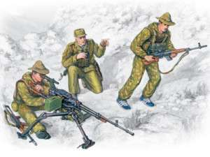 ICM 1/35 SCALE SOVIET SPECIAL TROOPS MODEL SOLDIERS KIT