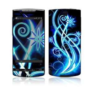 Abstract Neon Protective Skin Cover Decal Sticker for HTC