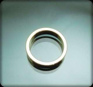 Designer Inspired Gold GP Ring 3sizes ( 51/2,81/4,10)