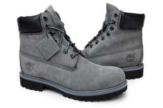 timberland mens boots 6 inch premium 71596 grey