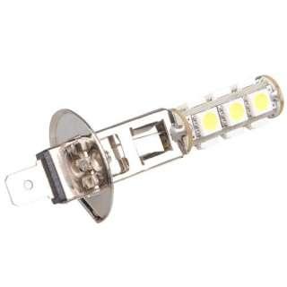 Car H1 White 5050 SMD 13 LED Bulb Head Fog Light Lamp