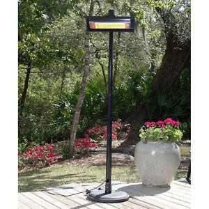 Infrared Outdoor 1500 Watt Electric Patio Deck Heater