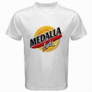 Medalla Beer Logo New White T Shirt Size  S, M ,L , XL
