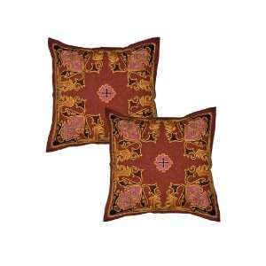 Indian Classic Home Decor Handmade Embroidered Floral
