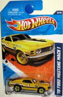 70 Ford Mustang MACH 1 Hot Wheels 11 Main Street 9/10