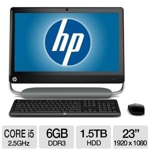 HP TouchSmart 23 Core i5 1.5TB All In One PC: Electronics