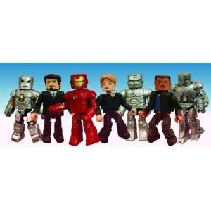 Marvel Minimates Iron Man Movie 2 Packs Case of 12 Toys