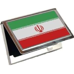 Iran Flag Business Card Holder