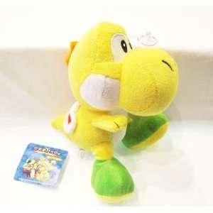 Super Mario YELLOW Yoshi Plush Doll 6